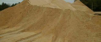 Песок Сходня