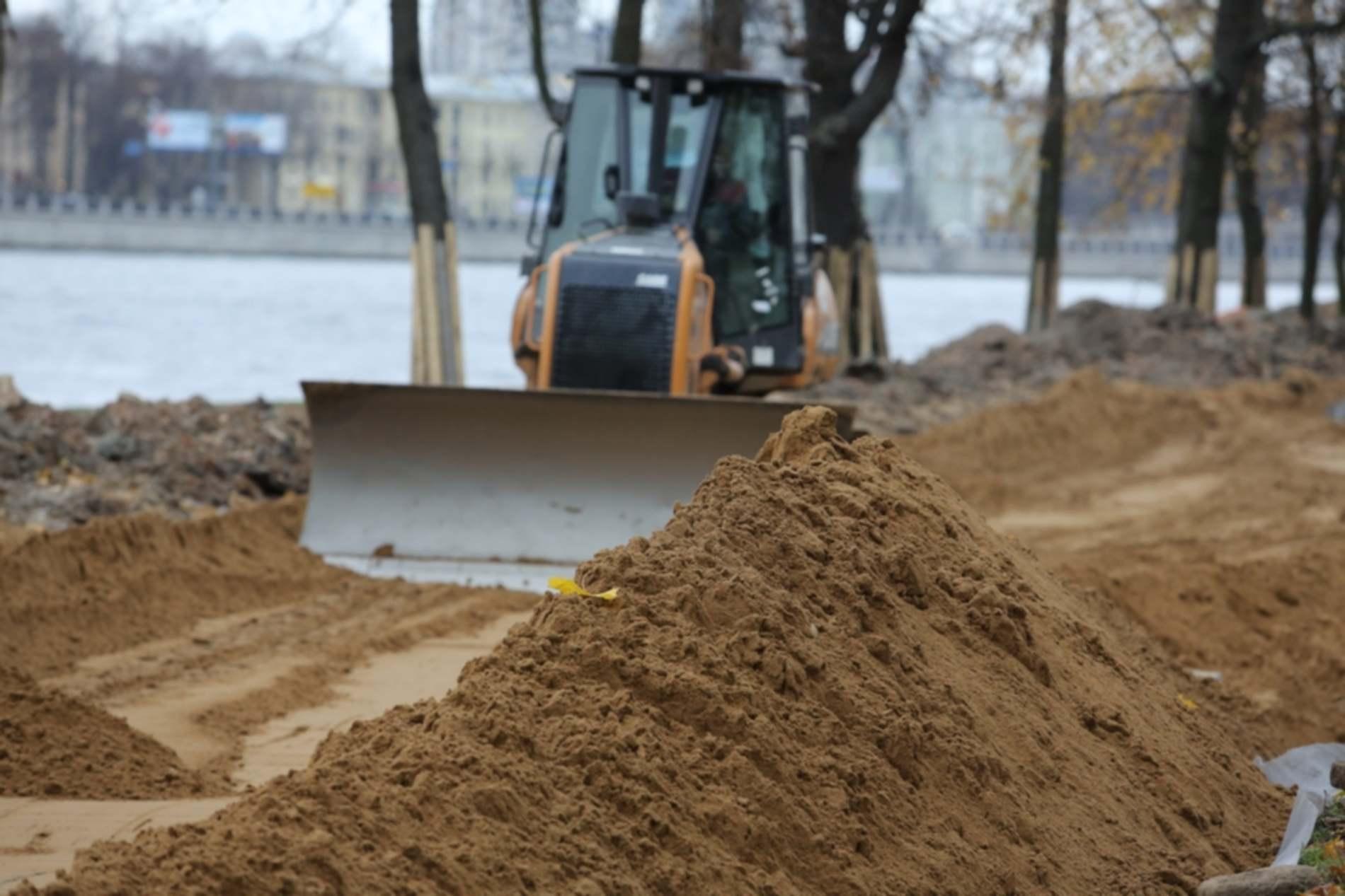 песок применяется в строительстве